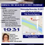 1031 Exchange Class 11/29/17
